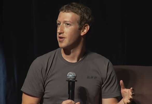 Mark Zuckerberg'in Gri T-shirt'ü