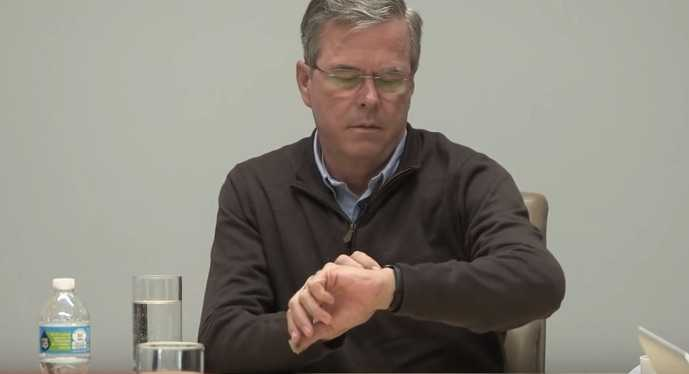 George W. Bush'un Kardeşi Apple Watch Yüzünden Rezil Oldu!