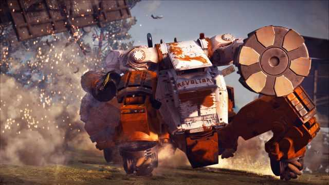 Görsel: Just Cause 3 Mech and Assault DLC