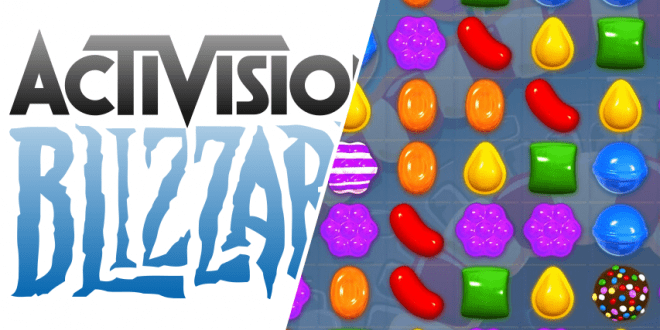 Activision Blizzard Takes Over Candy Crush
