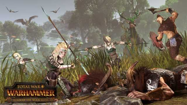 Total War: WARHAMMER: Realm of The Wood Elves Çıktı