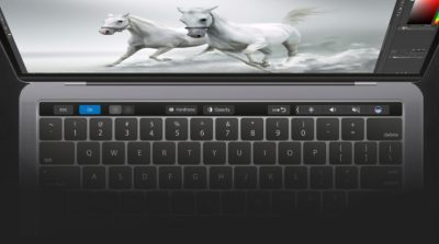 Adobe Photoshop'a Touch Bar Desteği Geldi