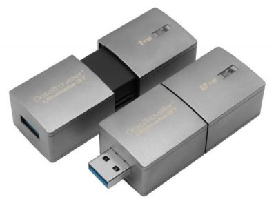 Kingston'dan Rekor: 2TB'lık USB Bellek