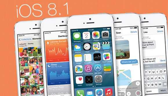 iOS 8.1 Yayında!