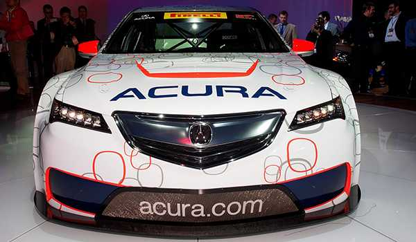 Sürücüsüz Honda Acura TLX Testte!