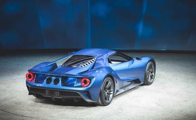 600 Beygirlik Motoru ile Ford GT 2017
