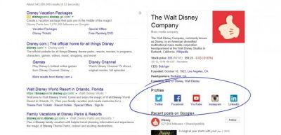 Google Search Sosyal Medya Ağlarına Direkt Link Verecek