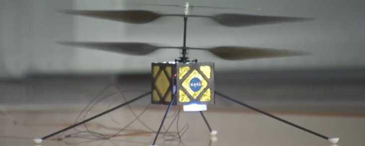 NASA Mars Helikopterini Test Ediyor