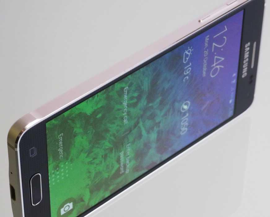 Galaxy S6 Tasarım Detayları