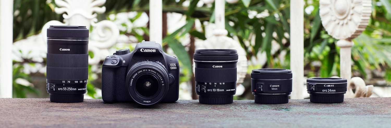 Canon EOS 1300D lensleri