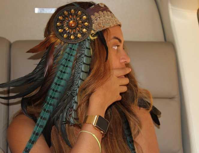 Beyonce Apple Watch İle Görüntülendi