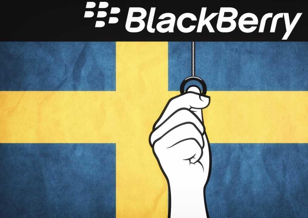 BlackBerry İsveç'teki Faaliyetlerini Noktalıyor