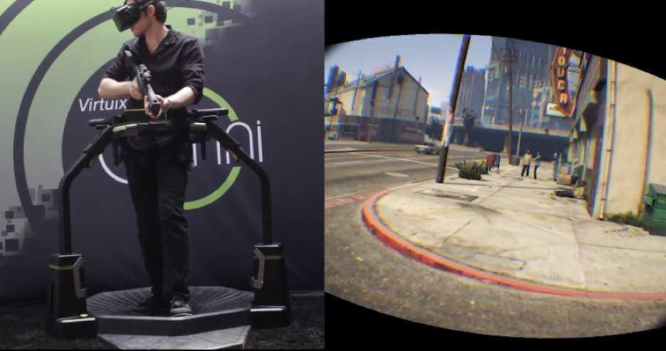 Sanal Gerçeklik Gözlüğü ile GTA 5 Oynadılar!
