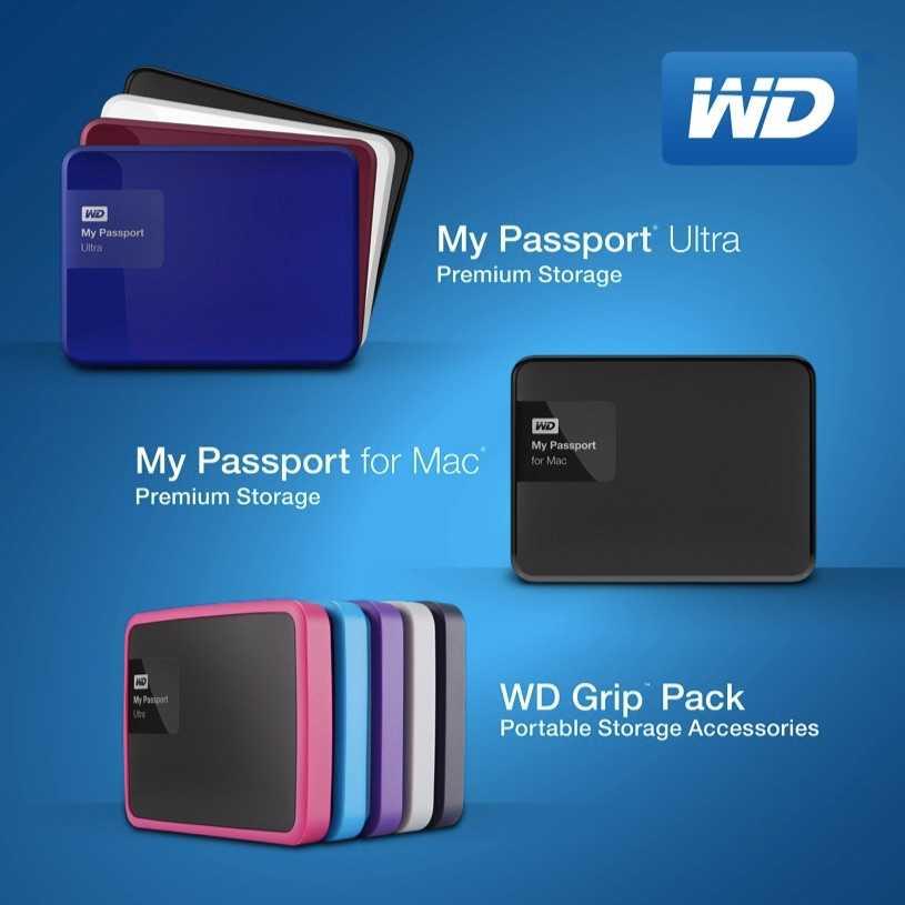 WD'den Yeni My Passport Sürücüler