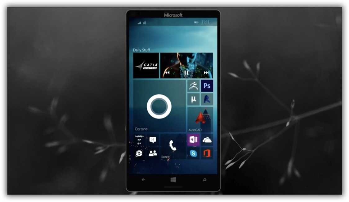 Akıllı Telefonlar İçin Windows 10 Göründü