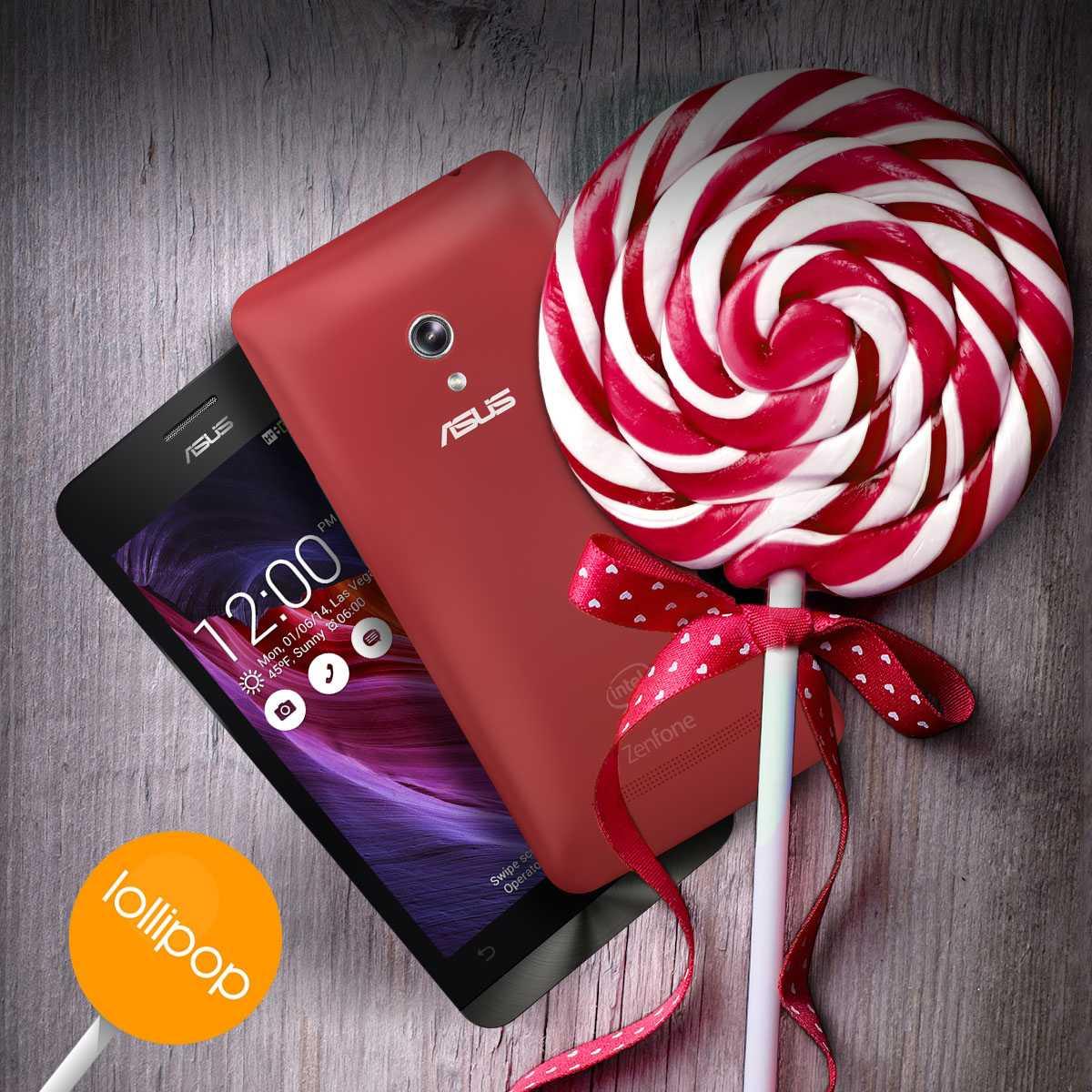 Asus Akıllı Telefonlara Android 5.0 Lollipop Güncellemesi Geldi!