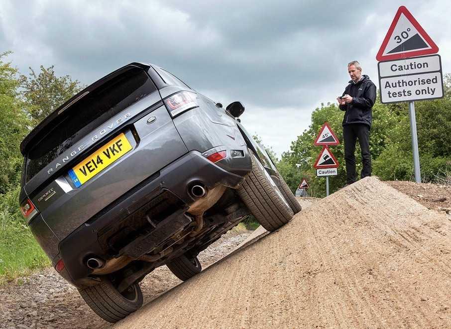 Land Rover Marka SUV'ları Kontrol Eden Uygulama