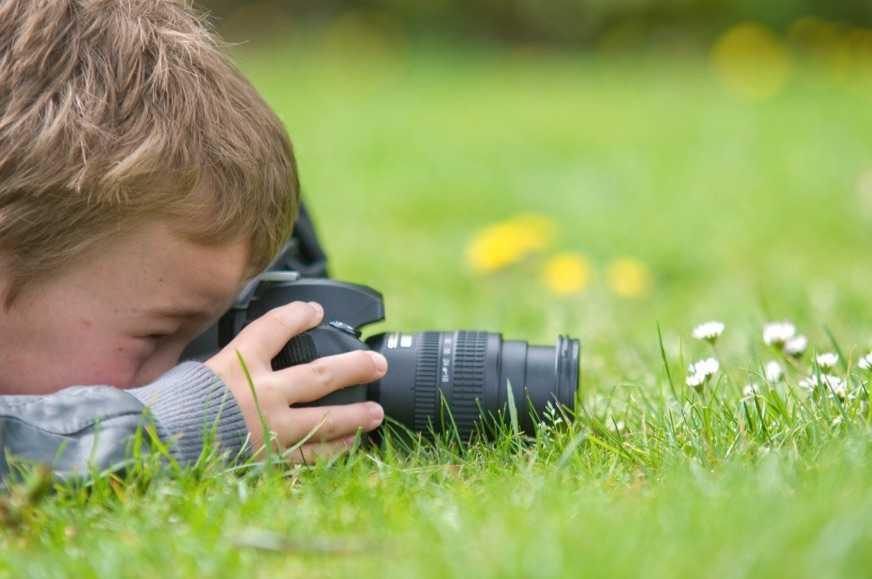 Çocuklar için Pratik Fotoğraf Teknikleri