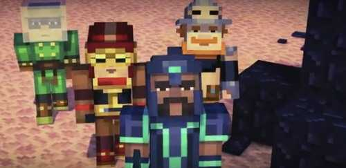 Minecraft: Story Mode Episode 1 tanıtım videosu yayınlandı