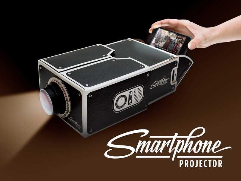 İlginç Ürünler: Akıllı Telefon Projektörü