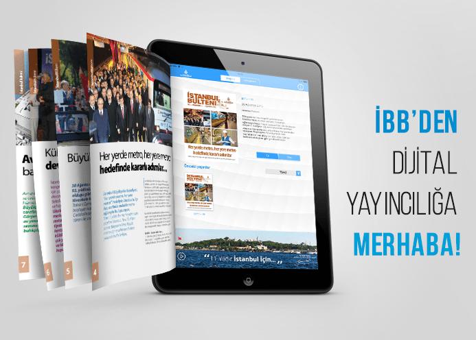 İBB'den Dijital Yayıncılığa Merhaba!