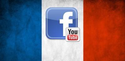 Facebook ve YouTube'tan Paris'e Destek