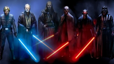 Jedi ve Sith'in Işın Kılıcı Antrenmanını İzleyin