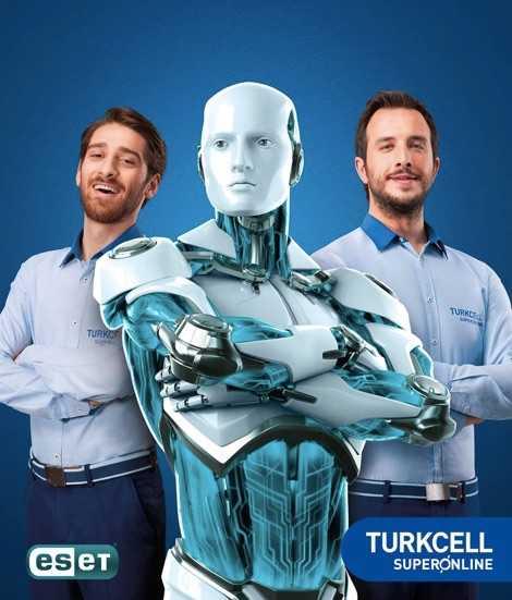 Turkcell Superonline Kullanıcılarına İnternette ESET Güvenliği