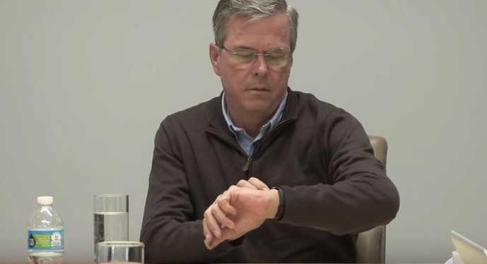 George W. Bush'un Kardeşi Apple Watch Yüzünden Rezil Oldu!