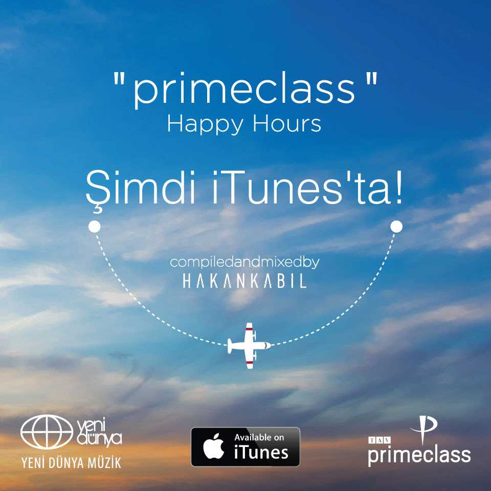 Primeclass Happy Hours Şimdi iTunes'ta!