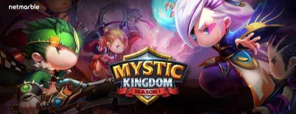 Netmarble'dan Yeni RPG: Mystic Kingdom