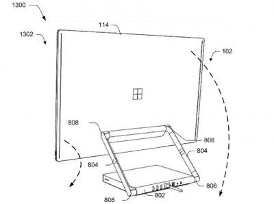 Microsoft Dahili Ekranlı Modüler Bilgisayar Patenti Aldı