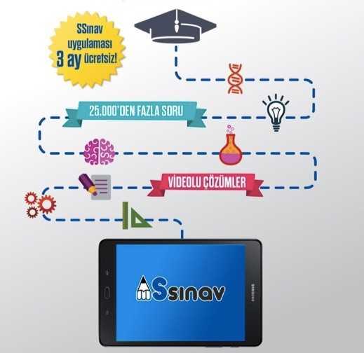 Samsung'dan Yeni Uygulama: SSınav