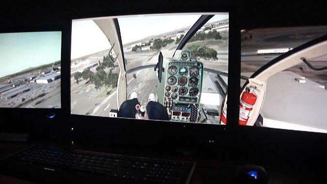 X-Plane 10 Triple Monitor