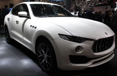 SUV Değil Maserati Levante!