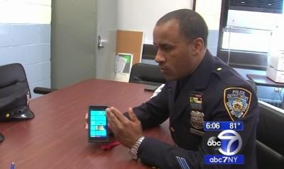 New York Polis Departmanı Windows Phone Kullanacak
