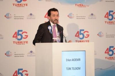 Türk Telekom CEO'su: 4.5G ile Türkiye'yi Hızlandırıyoruz