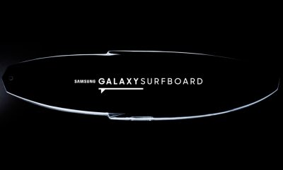 Akıllı Sörf Tahtası Samsung Galaxy Surfboard