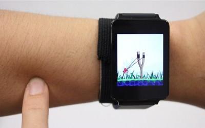 Akıllı Saatleri Tenimize Dokunarak Kontrol Edebiliriz