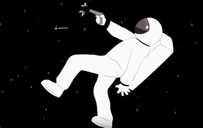 Uzayda Tetiği Çekerseniz Ne Olur? [İzle]
