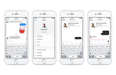 Facebook Messenger'da Gizli Görüşmeler Otomatik Silinecek!