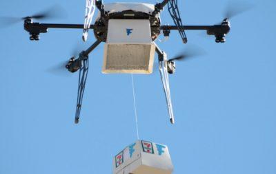 Sipariş Verdiği Tavuklu Sandviç Drone ile Geldi!