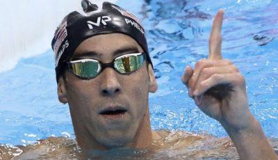 Michael Phelps Sosyal Medyayı Salladı!