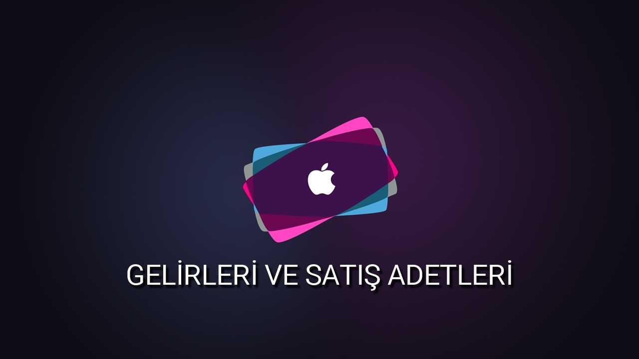 Apple Gelirleri ve Satış Adetleri