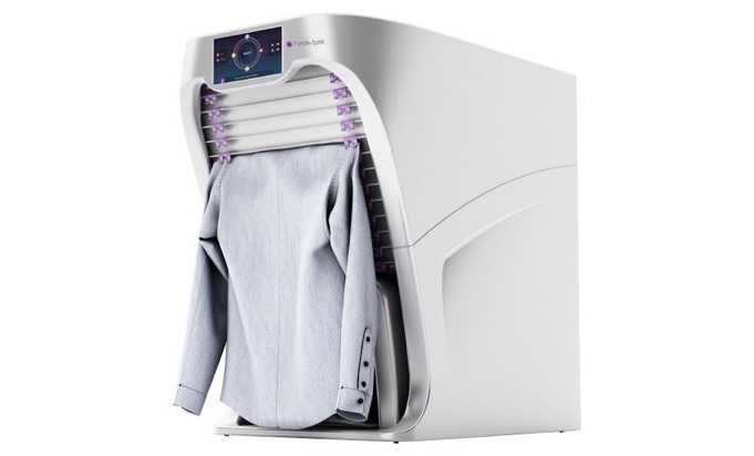 Bu Makine ile Elbise Katlamaya Son [Şaka Değil!]