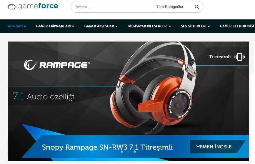 Gamer'lara Yönelik Yeni E-Ticaret Sitesi GameForce Açıldı [Güncelleme: Kapandı]