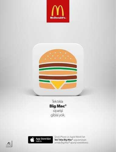 Big Mac Artık Bir Tık Uzağınızda!