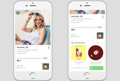 Spotify ve Tinder İşbirliği ile Önce Müzik Zevkleri Buluşuyor