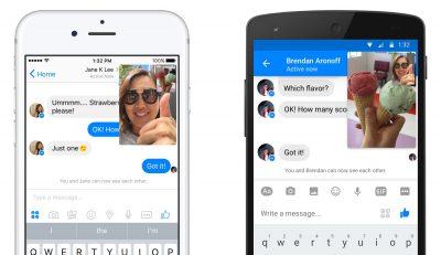 Facebook Messenger'da Anlık Video Dönemi!