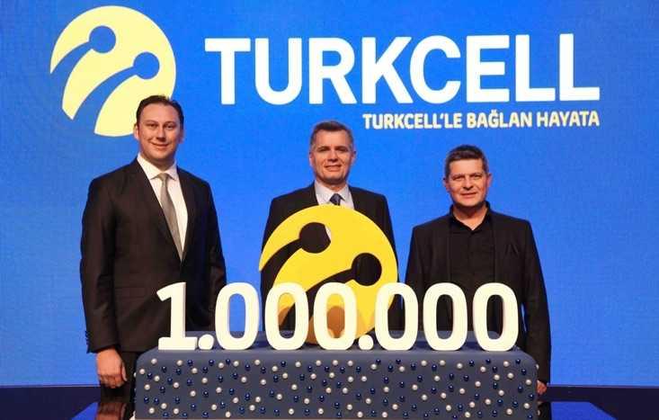 Turkcell Fiberde 1 Milyona Ulaştı